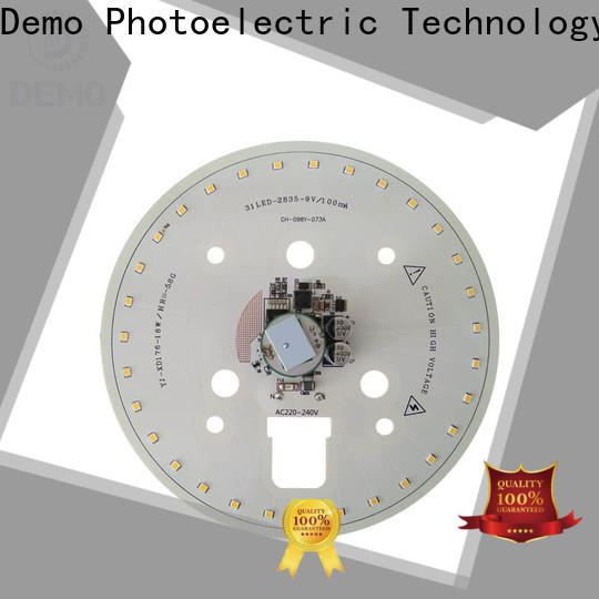 Demo durable led module replacement free design for Lawn Lamp
