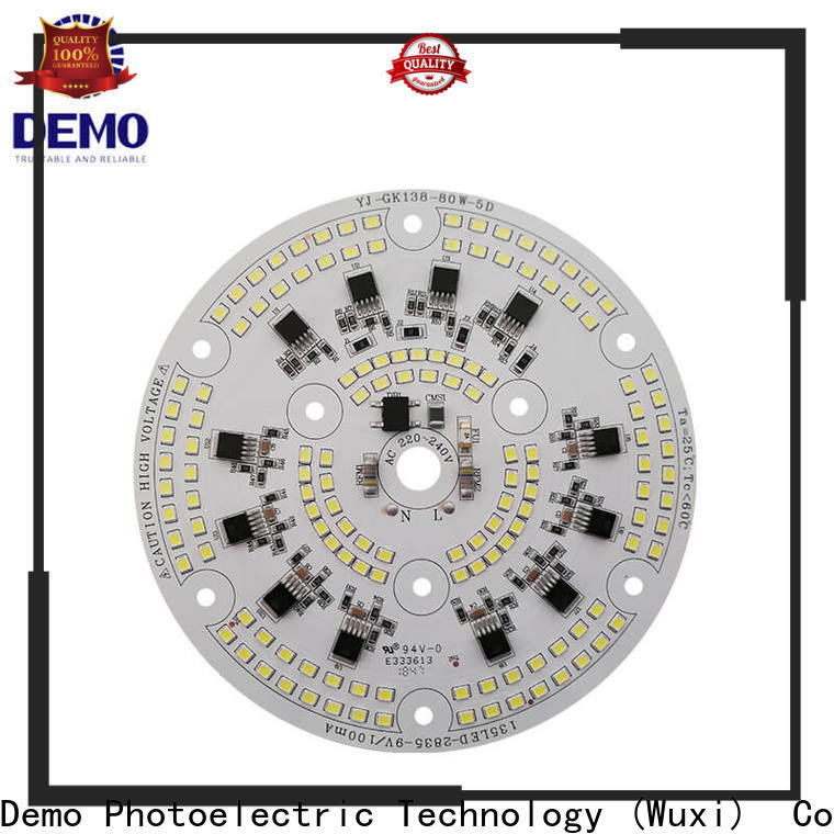 Demo ac round led module manufacturers for T-Bulb