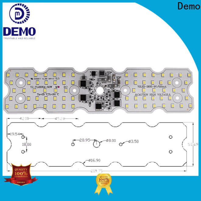 Demo exquisite round led module manufacturers for Lawn Lamp