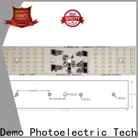 durable round led module streetlights types for Solar Street Lamp