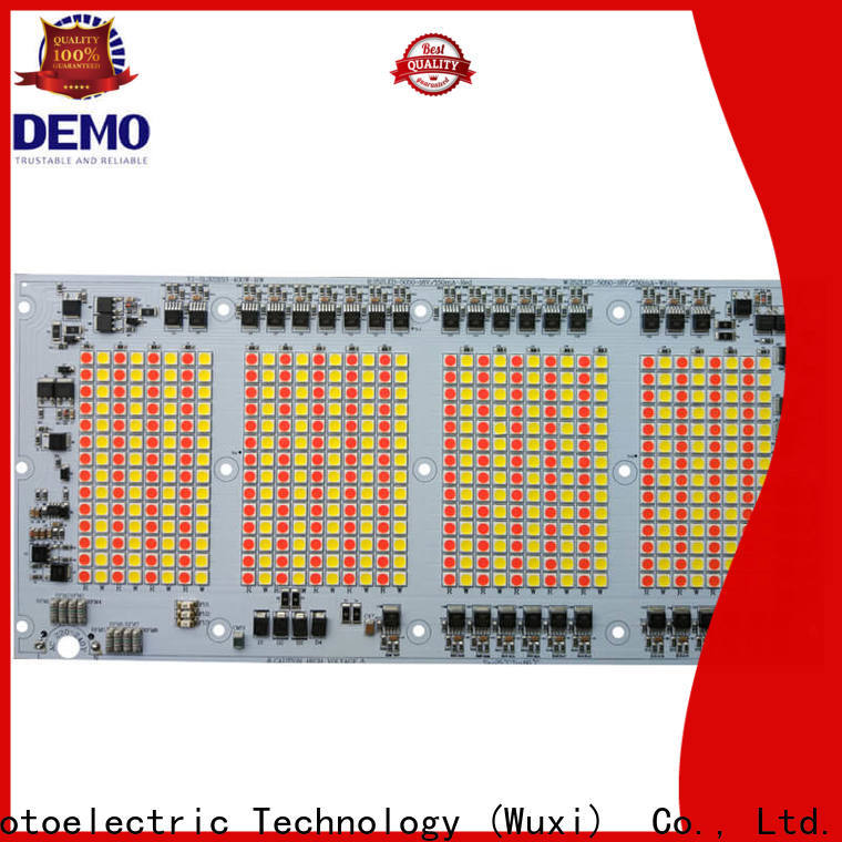 Demo durable led module lights types for bulb
