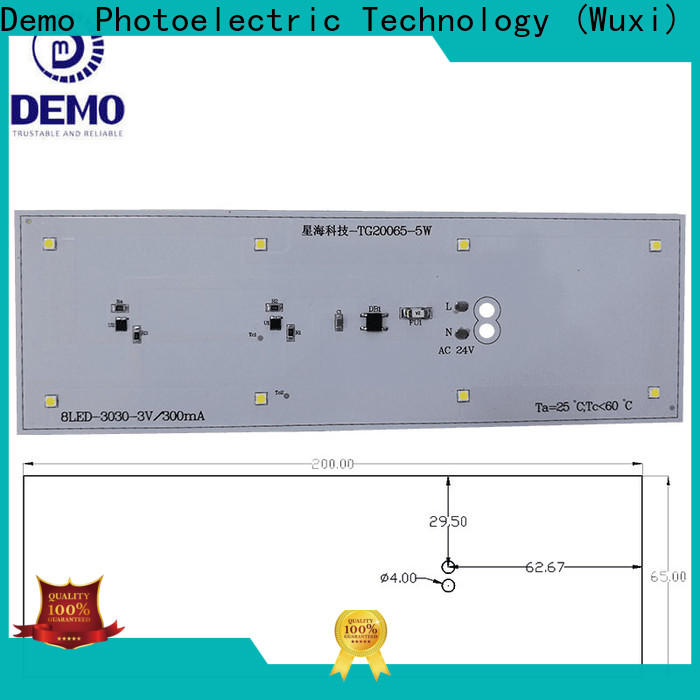 Demo nice led module manufacturers assurance for T-Bulb