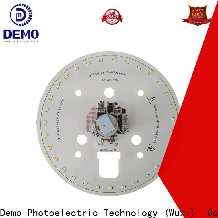 Demo dual led module lights types for Solar Street Lamp