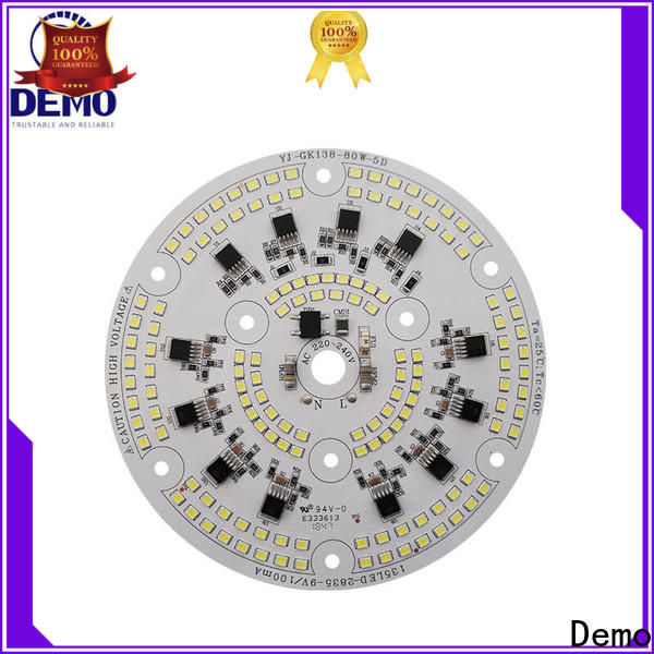 durable round led module 200w long-term-use for Lawn Lamp