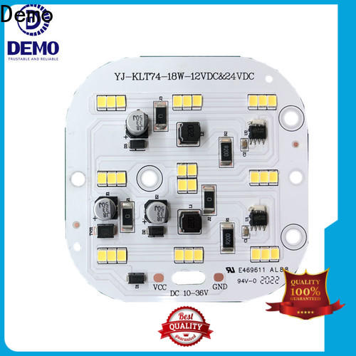 Demo lights circular led module inquire now for T-Bulb