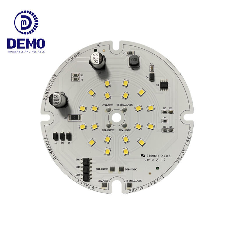 127lm/W 9W 10-30V 24V 12V AC/DC PWM Dimmable Dual Input Channel DOB Driverless LED Module for LED Bulblight and Downlight