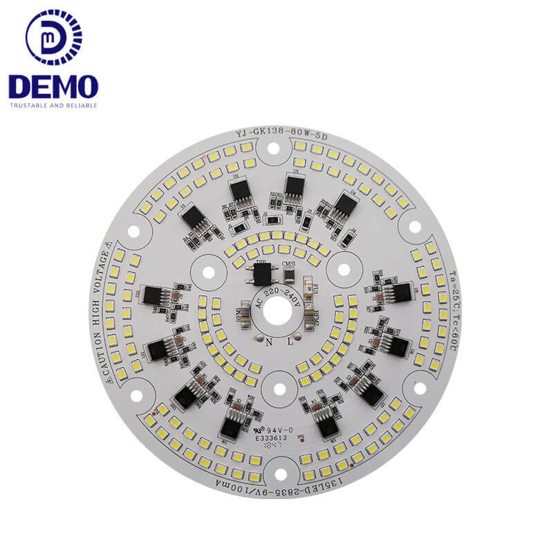 80W 220V DOB AC LED Module For Warehouse And Supermarket Lights