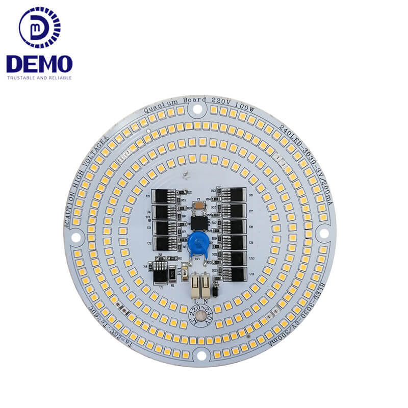 Dimmable 100W 220V DOB AC LED Module Quantum Board For LED Grow Lights