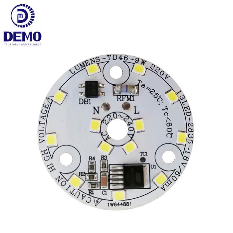 9W 220V DOB AC LED Module For Downlight