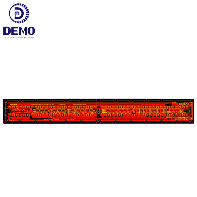 Demo dimmable round led module owner for Solar Street Lamp-2